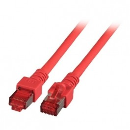 EFB K5512.1 Patchkabel Cat. 6 2x RJ45 Stecker rot 1,0 Meter